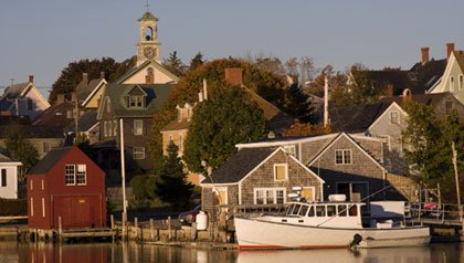 Portsmouth, New Hampshire is a quintessential New England town near mountains and the ocean for retirees