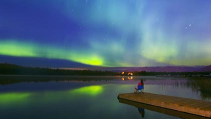 Anchorage, Alaska is a nature lovers resort for retirees