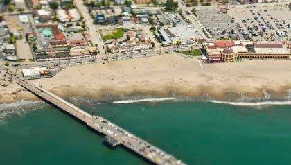 Santa Cruz, California is a nature lovers resort for retirees