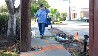 Lois E. Carlisle, AARP Texas and other organizations push for 'complete streets' legislation