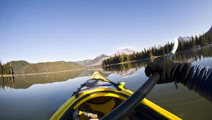 great sunny places to retire- bend, oregon kayaking