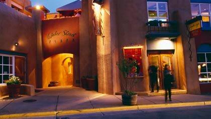 great sunny places to retire- santa-fe, new mexico street