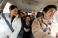 El coche adecuado puede ser útil para usted y para la gente que va en el