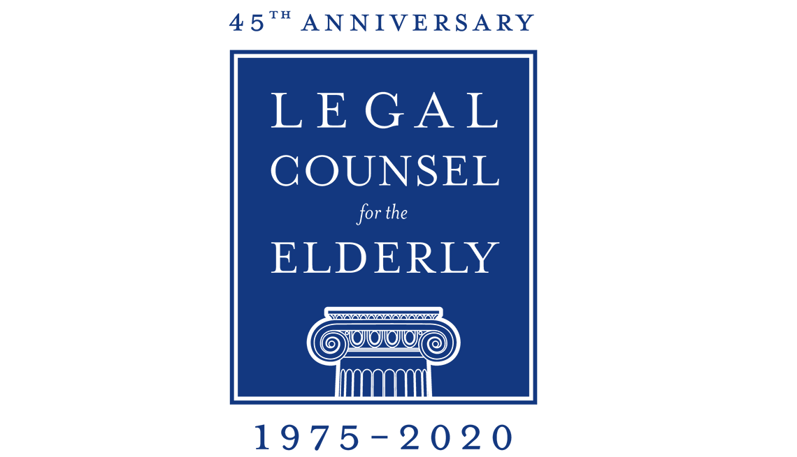 legal counsel for the elderly forty fifth anniversary 1975 to 2020
