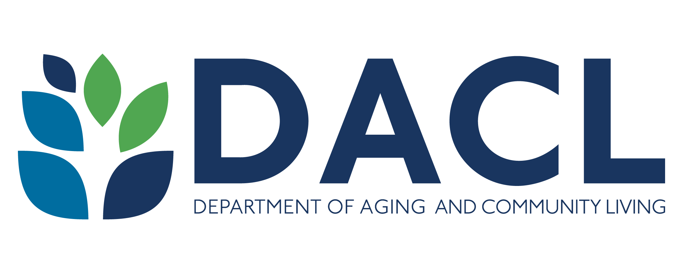 Logo del Department of Aging and Community Living