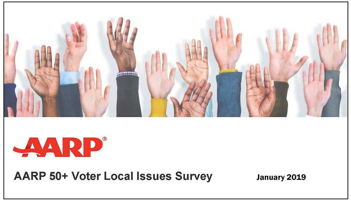 2019 AARP 50+ Voter Local Issues Survey