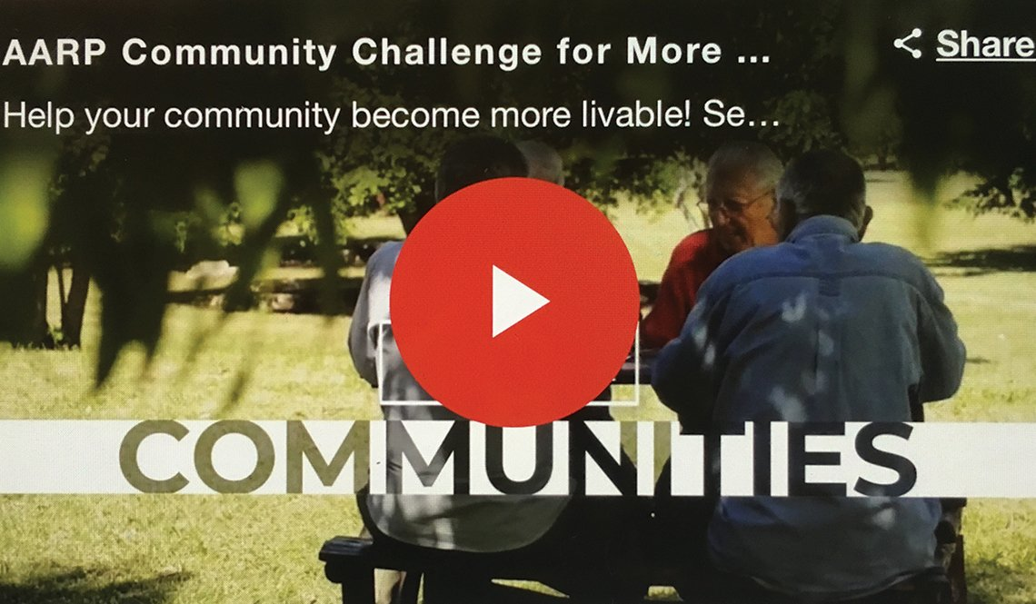 Video player for AARP Livable Communities