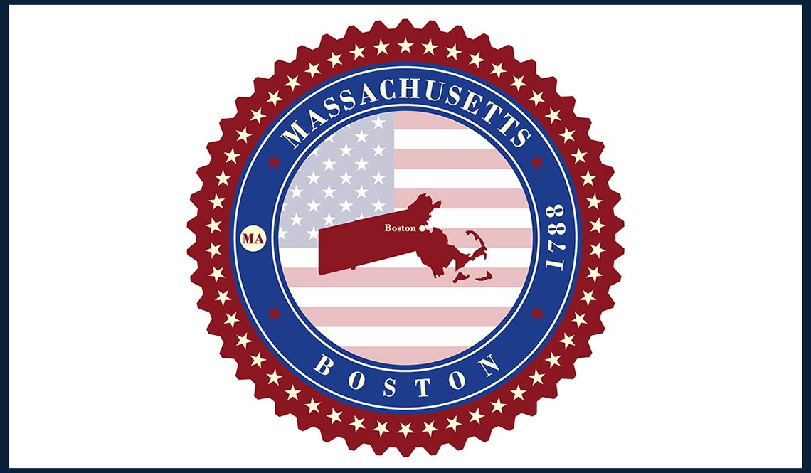 A Massachusetts state seal