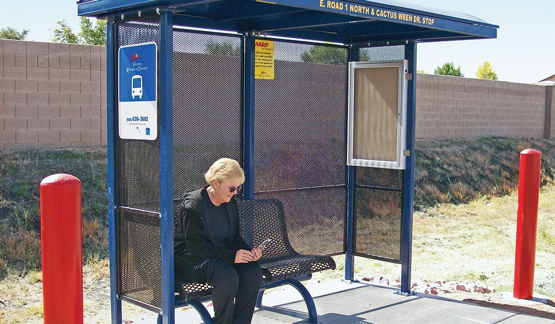 item 3, Gallery image. Photo provided by Yavapai Regional Transit