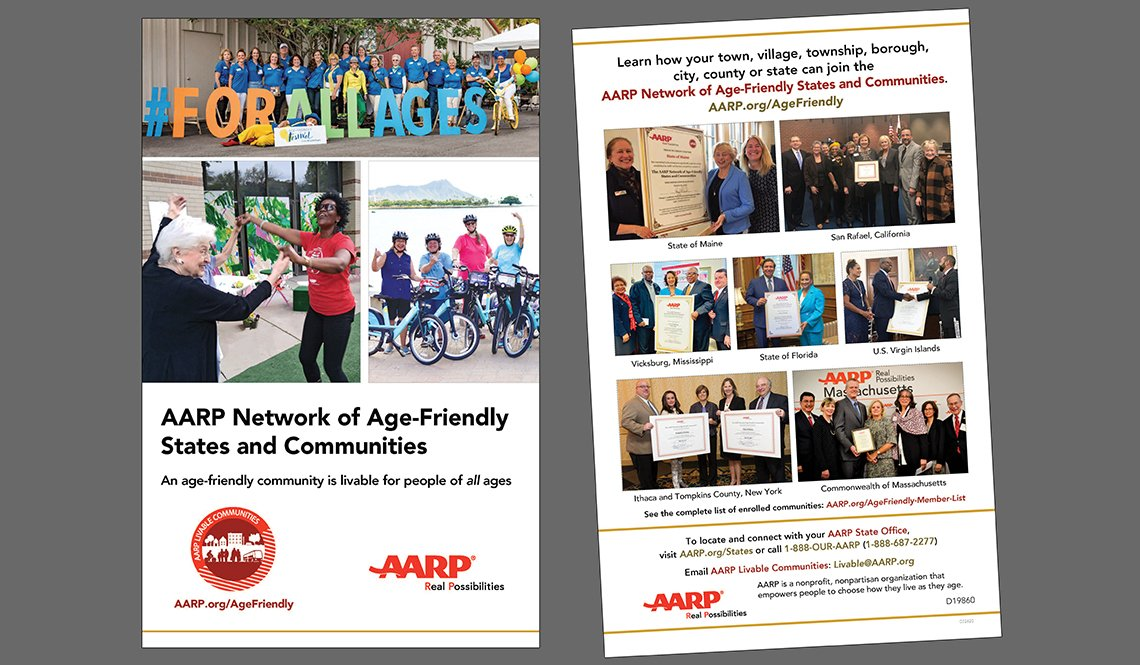 AARP Network of Age-Friendly States and Communities covers