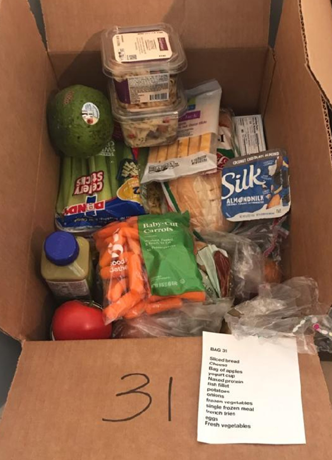 A Box of Groceries