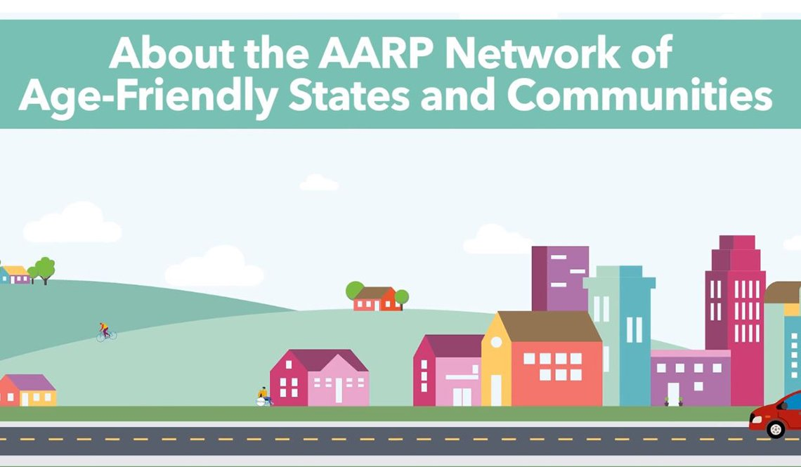 About the AARP Network of Age-Friendly States and Communities