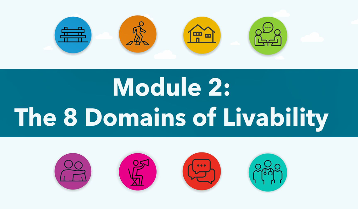 Video 2 The 8 Domains of Livability
