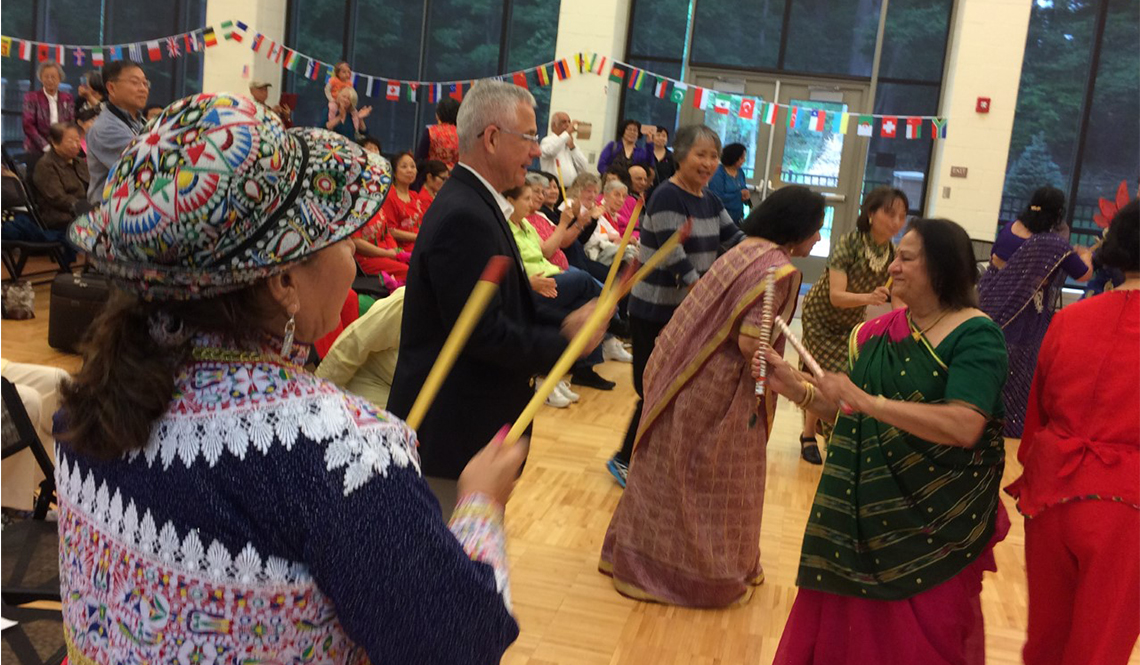 Ballroom Dancing in Age-Friendly Montgomery County, Maryland