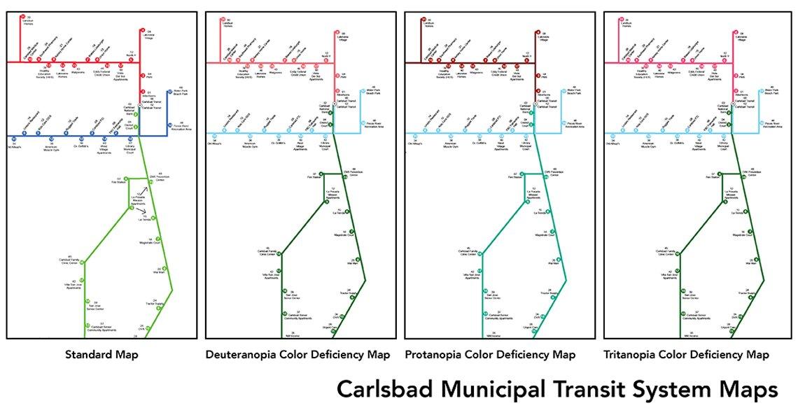 Carlsbad Transit Map