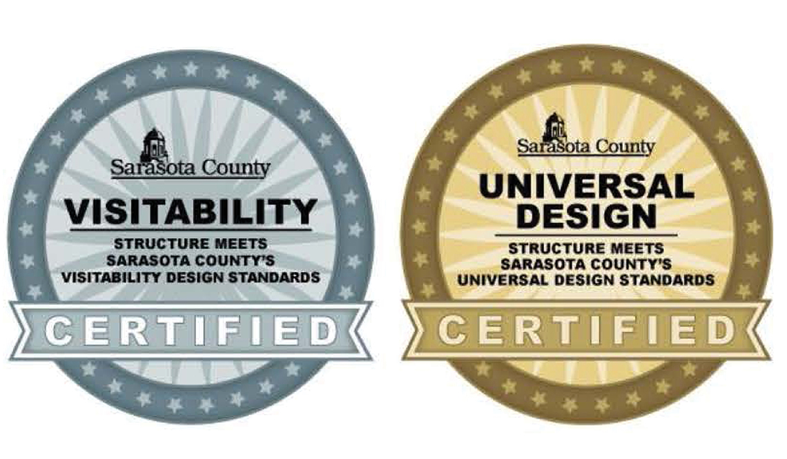 Sarasota County Visitability and Universal Design Seals