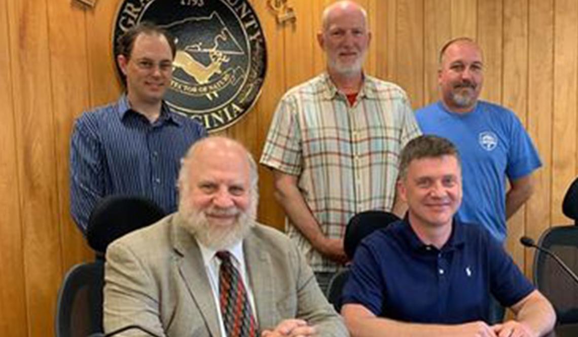 Grayson County and Broadband Leaders