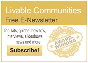 Livable Communities E-Newsletter promotion