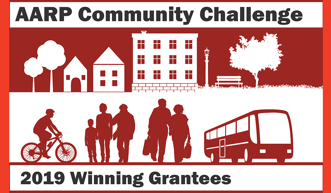 AARP Community Challenge 2019 Winning Grantees