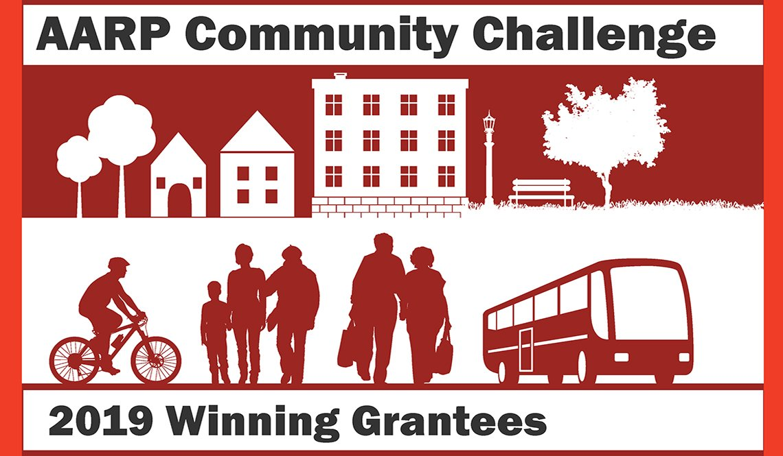 AARP Community Challenge 2019 Winning Grantees