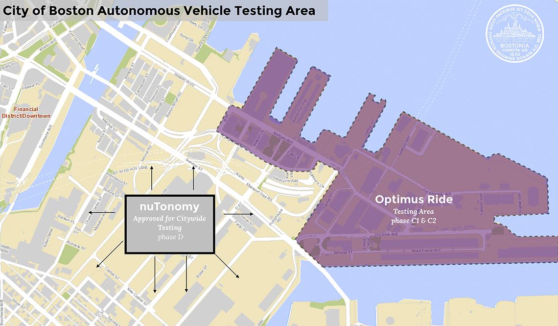 Boston AV Testing Map
