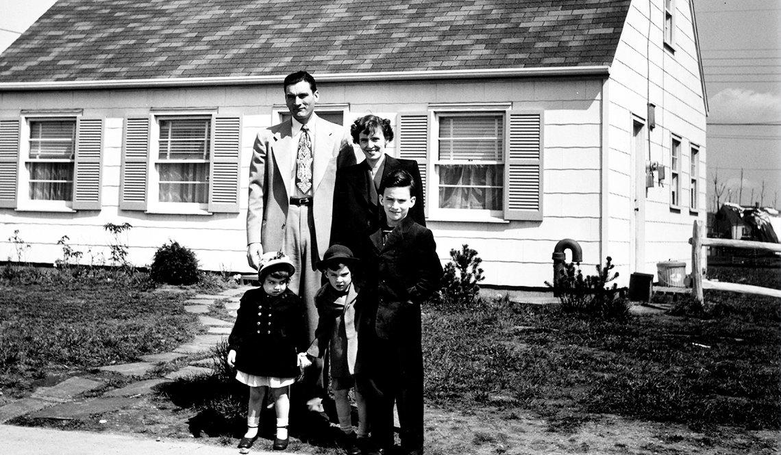 1950s Family