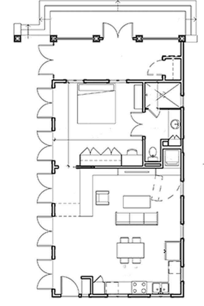 Floor Plan by Kronberg Wall