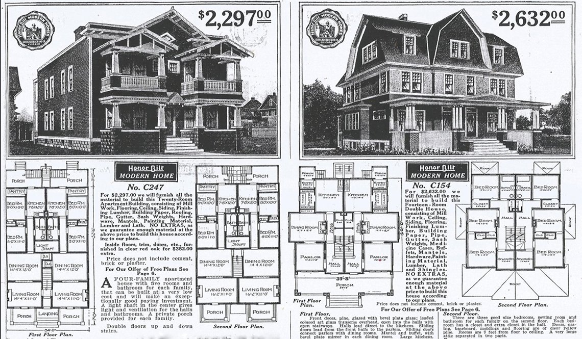 The Original Missing Middle Houses
