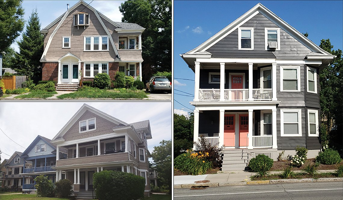 Missing Middle Stacked Duplex Houses