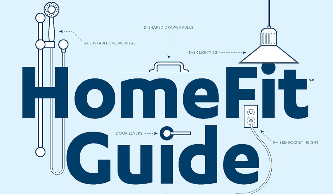 Logo from the AARP HomeFit Guide