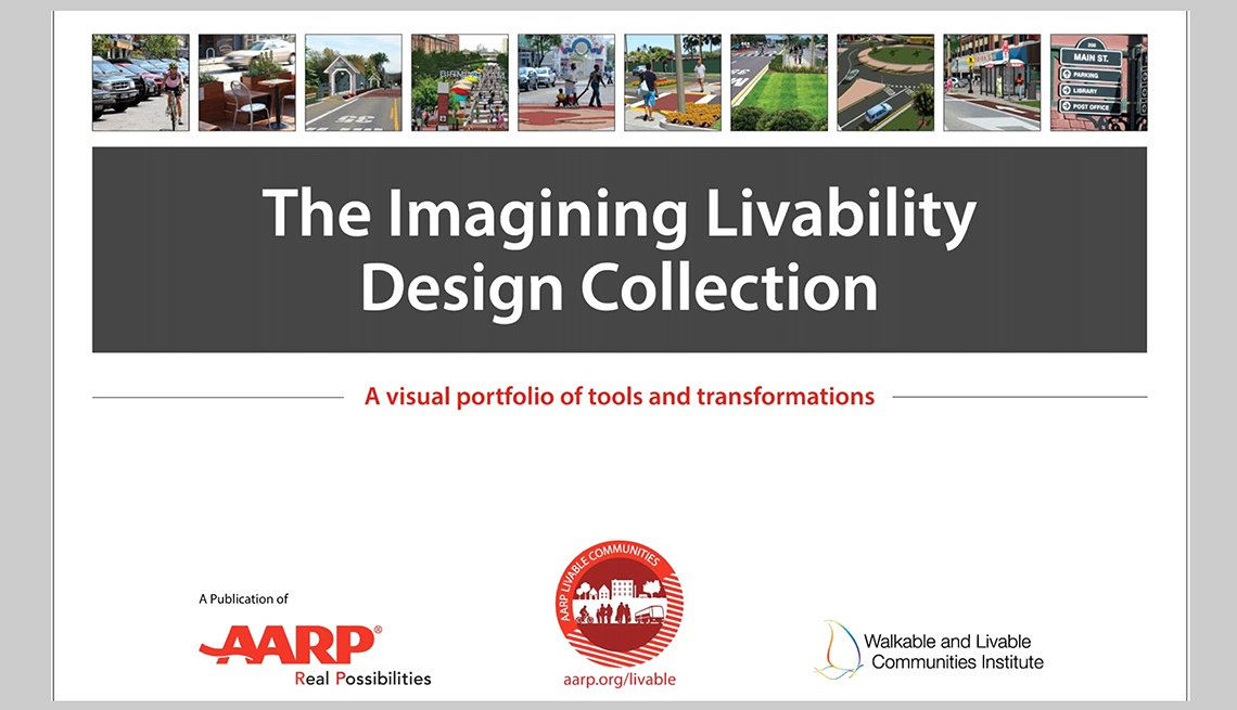 Cover of the AARP Imagining Livability Design Collection