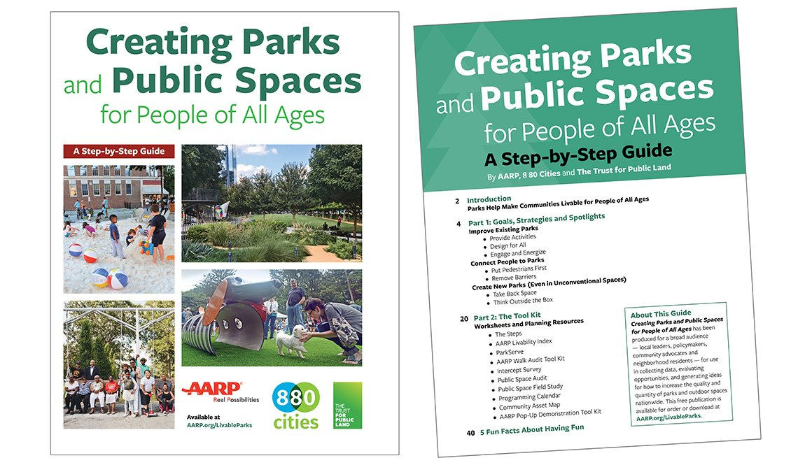 Creating Parks and Public Places for People of All Ages