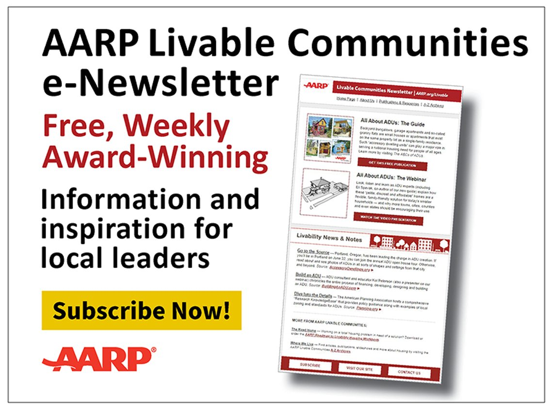 AARP Livable Communities e-Newsletter