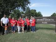 AARP Kansas Creates Grandparents Park