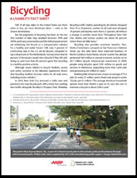 Bicycling Livability Fact Sheet