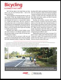 Bicycling Livability Fact Sheet