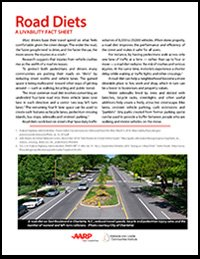 Road Diets: A Livability Fact Sheet
