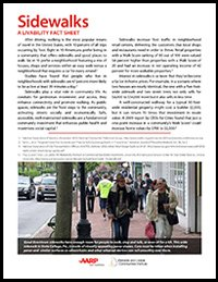Sidewalks Fact Sheet