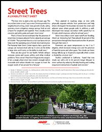 Street Trees Fact Sheet