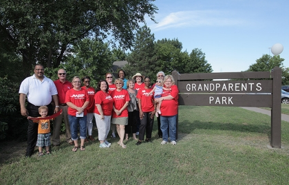 AARP Kansas Creates Grandparents Park