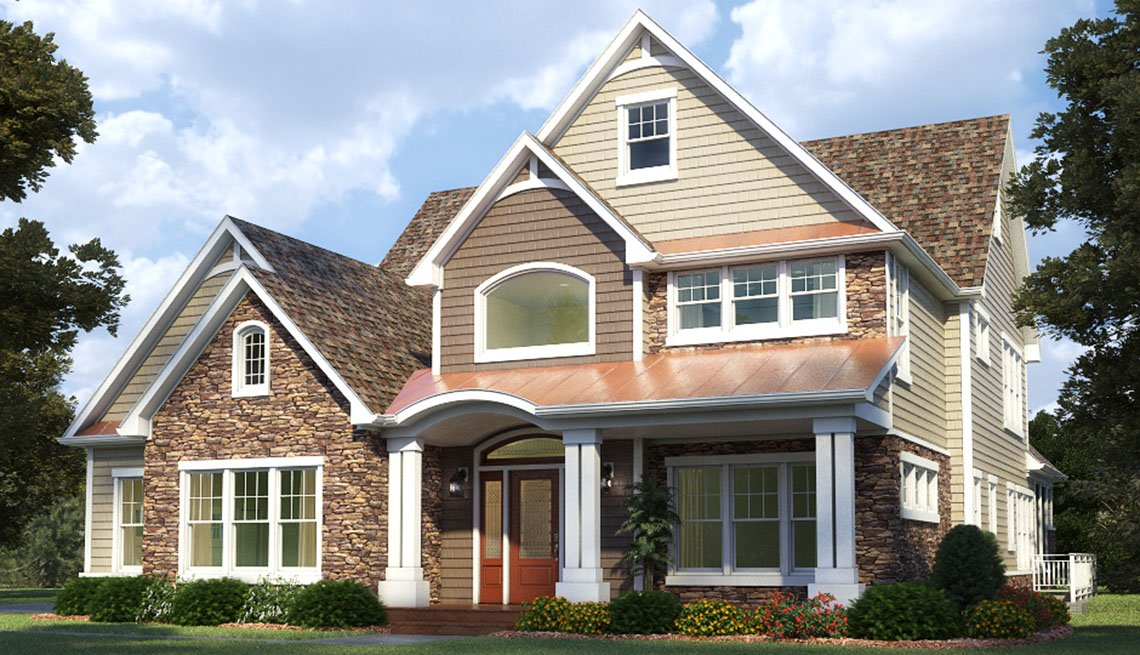 2014 Home For Life, House, Exterior, Residence, Livable Communities