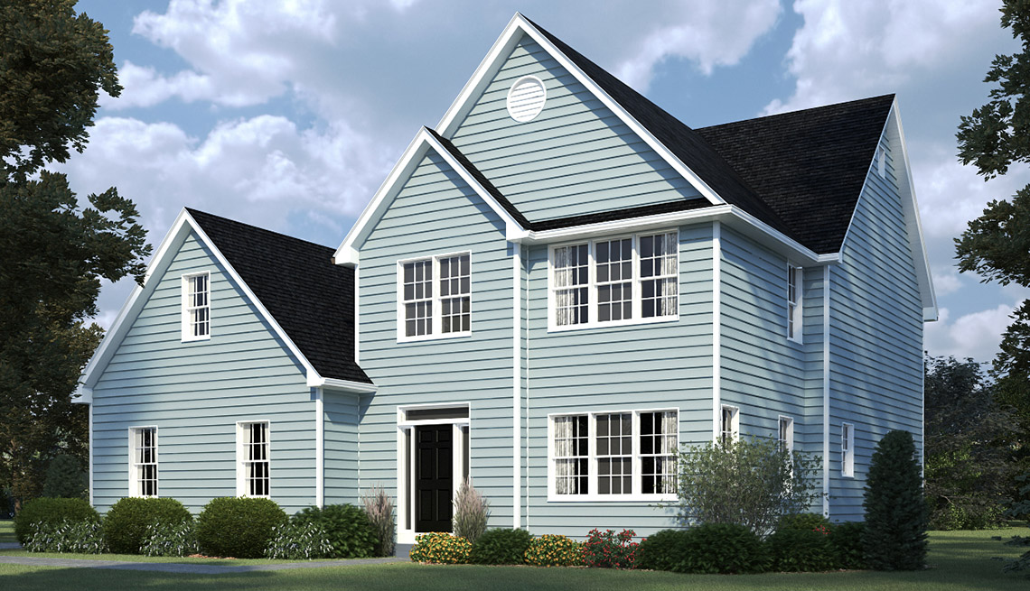 Before House, Exterior, Residence, Livable Communities, 2014 Home For Life
