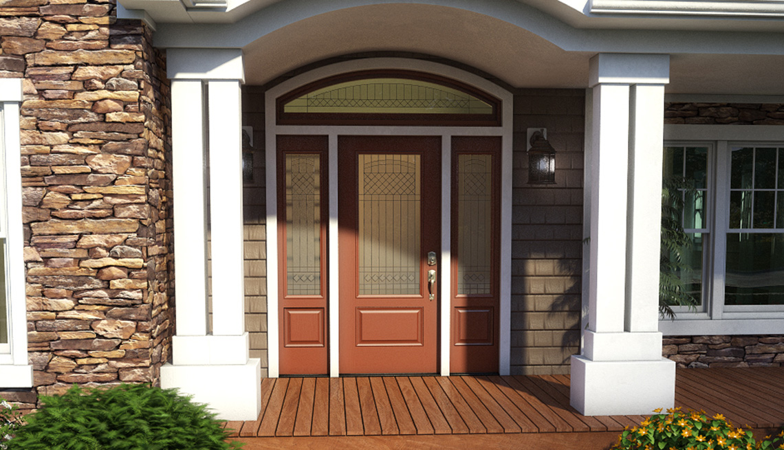Front Door, Entrance, Residence, Livable Communities, 2014 Home For Life