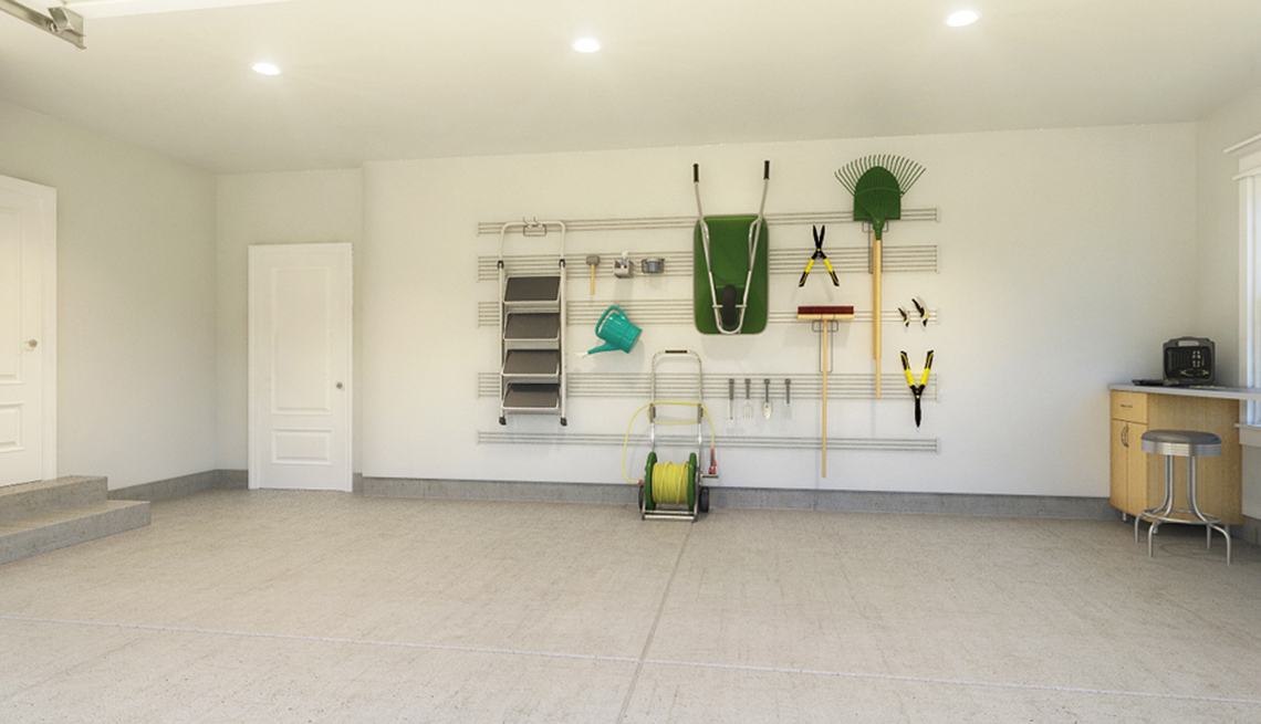 Roomy Garage, Tools, Residence, Livable Communities, 2014 Home For Life