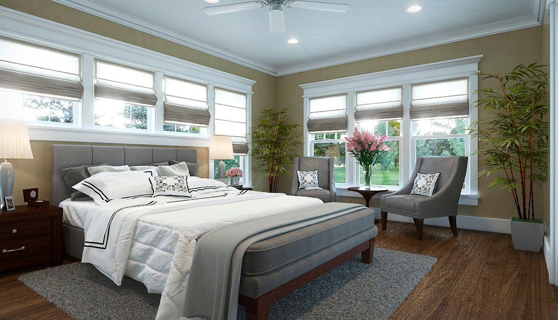 Bedroom, Furniture, Bed, Residence, Livable Communities, 2014 Home For Life