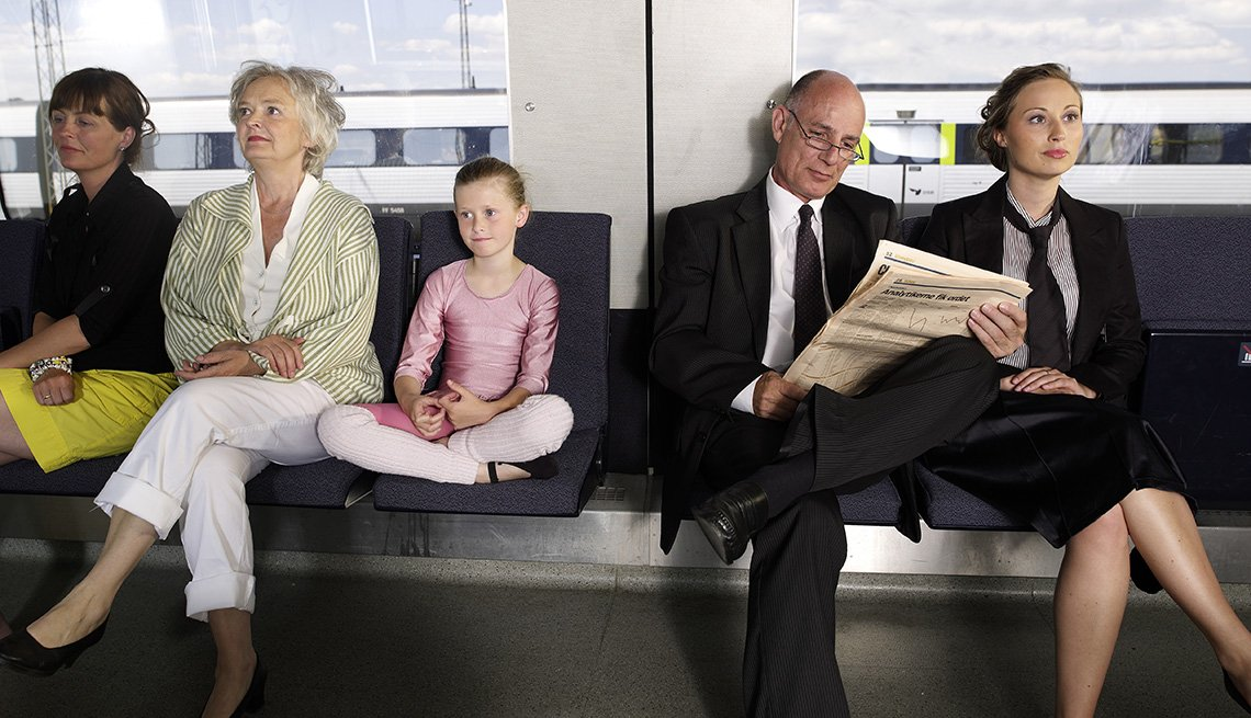 Transportation, Train, Passengers, Livable Communities, 8 Features Of An Age Friendly Community