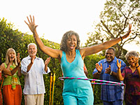 Fun social activities are important for people of all ages.