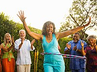 Learn which of the eight domains could involve a Hula-Hoop.