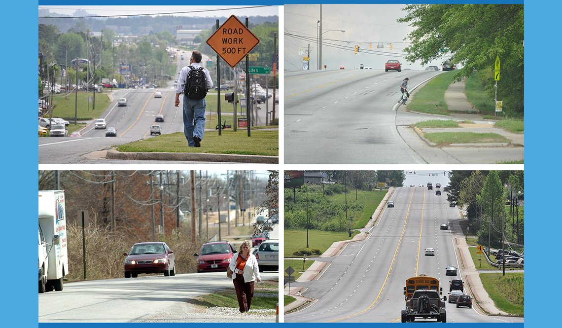 item 5, Gallery image. Photo collage from the National Complete Streets Coalition