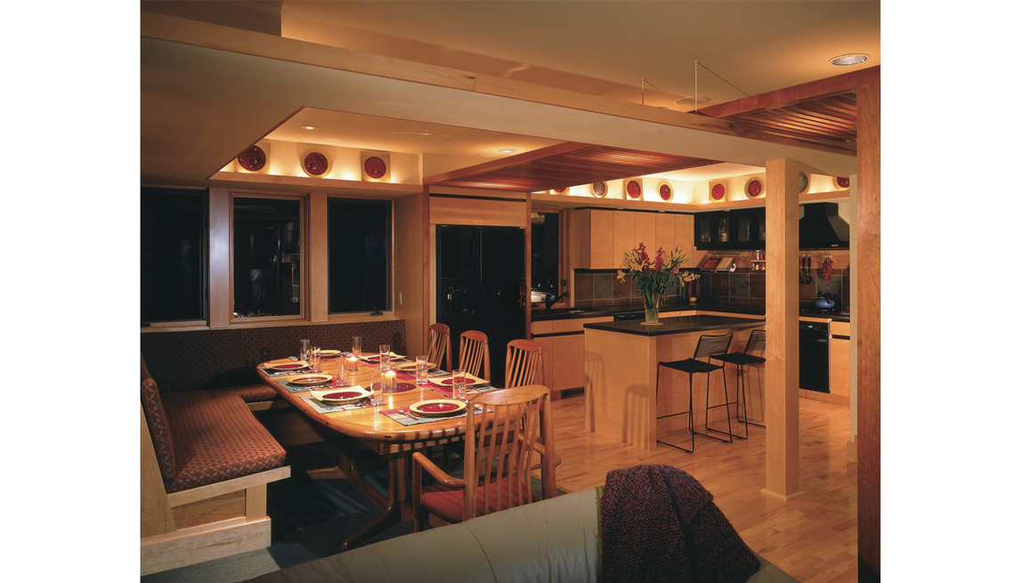 Kitchen And Dining Area, Residence, Home Sarah Susanka, 5 Questions, Livable Communities